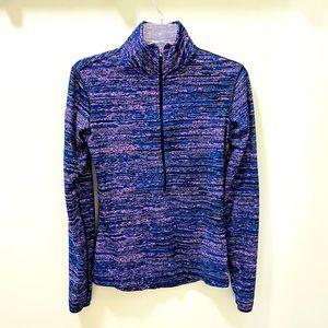 Nike Women's Half Zip Long Sleeve Pullover Size M